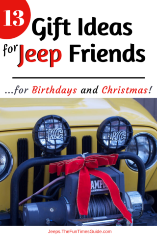 Gift ideas for jeep friends