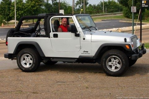 Our 4WD Jeep Wrangler Unlimited.