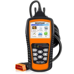 An OBD-II Scanner / OBD 2 Reader is the easiest way to find check engine light codes
