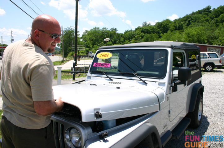 Buying A Jeep
