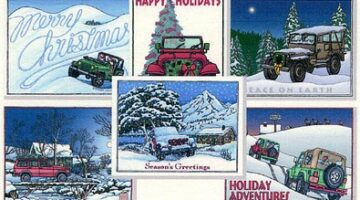 Be Different… Send Jeep Holiday Cards This Year!