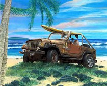 What's A Jeep Doing In The Ocean? Some Tips For Staying Safe When Driving Near Water