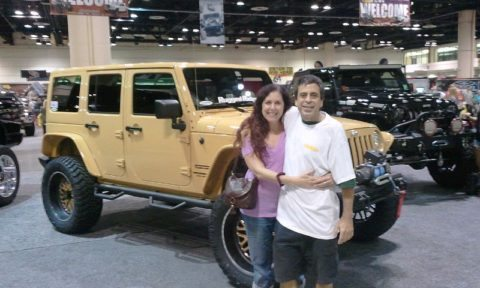 Jeep shoppers exploring all the different Jeep Wrangler models and trim packages