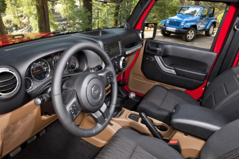 jeep wrangler sahara unlimited interior