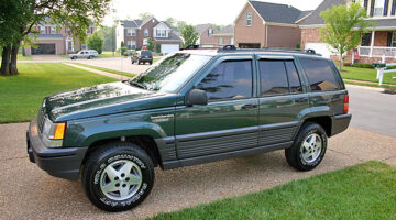 Our Trusty 'Ol Jeep Grand Cherokee