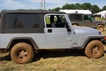 This one is NOT our Jeep, but it's the same year, make and model. It's the first Jeep Wrangler Unlimited we ever sat in... at Jeep 101 off-road events.