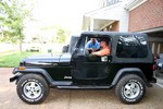 Jim had a hard time letting go of this reliable 'ol Jeep!