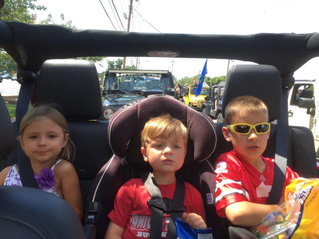 Kids Love Jeeps