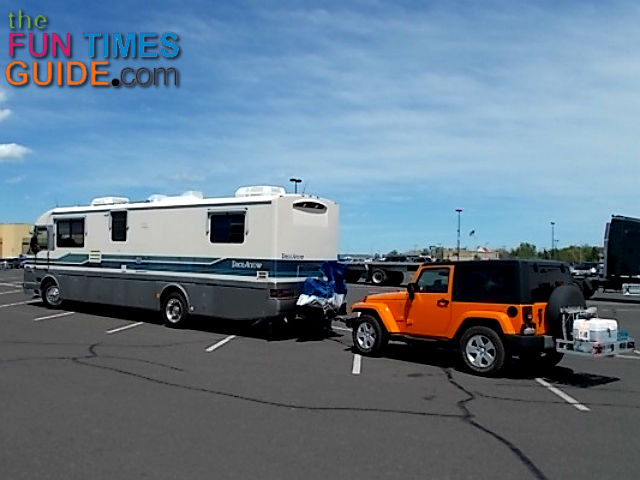 the quickest & easiest way to install tow lights on any vehicle how to wire a vehicle for towing at Wiring Tow Vehicle Behind Rv