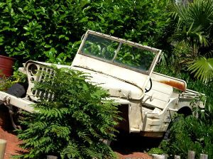 Old Jeep DIY project vehicle