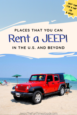 Places where you can rent Jeeps