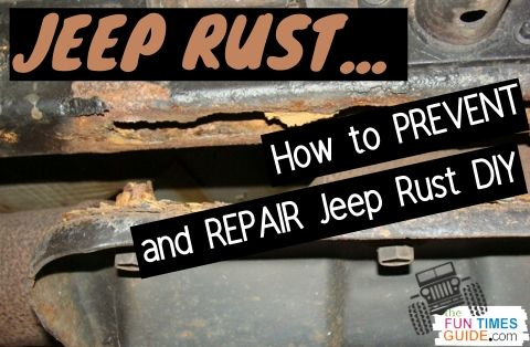 DIY Car Rust Repair: How To Fix Jeep Frame Rust + How To Prevent It From Happening In The First Place