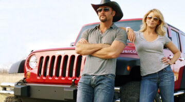 Red Jeep Plays A Big Role In Tim McGraw And Faith Hill's Life, Both Personally And Professionally
