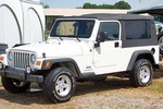 This is NOT our Jeep. It's a white Jeep Wrangler Unlimited from the same year... spotted at Jeep 101 off-road events.