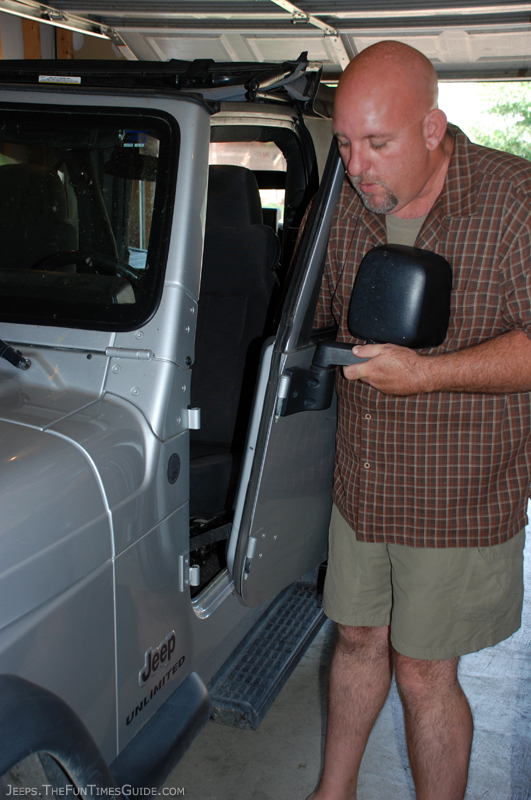 How To Remove Jeep Doors And Keep The Dome Light Turned