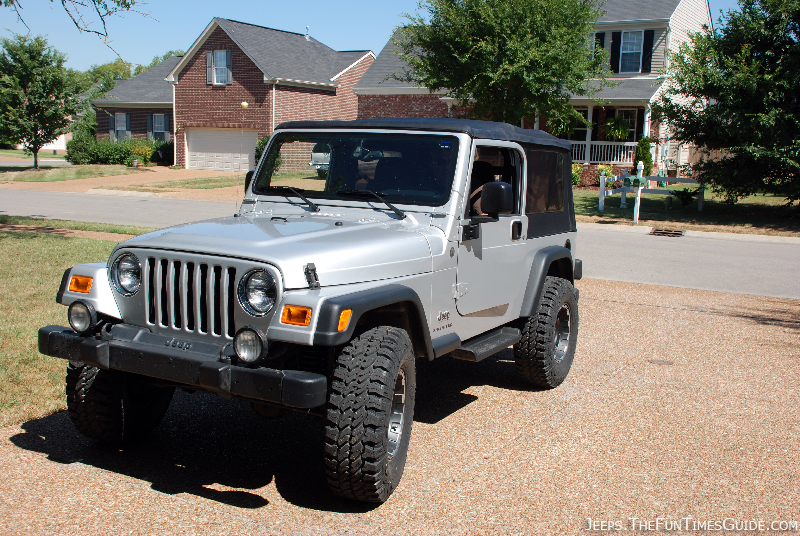 new jeep lift kit tires before and after fun times guide to jeeping. Black Bedroom Furniture Sets. Home Design Ideas
