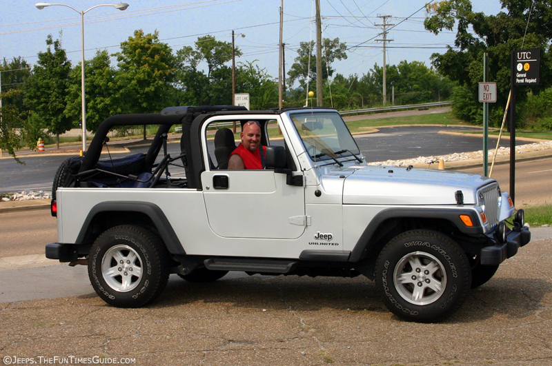 2005 Jeep Wrangler Accessories have the entire Jeep sunrider soft top down on our 2004 Jeep Wrangler ...